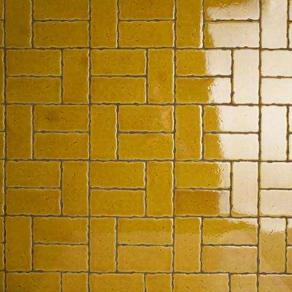 Novecento Camel 2-1/2 in. x 5-1/8 in. Ceramic Subway Wall Tile (6.16 sq. ft. / case)