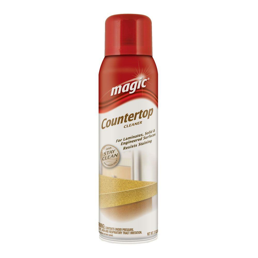 Magic American 17 oz. Countertop Cleaner with Stay Clean Technology Aerosol-DISCONTINUED