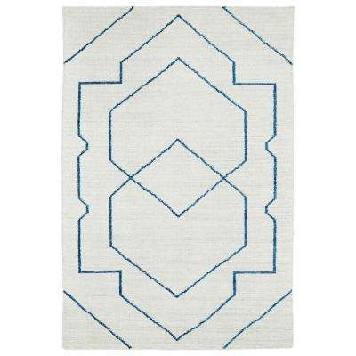 Solitaire Ivory 8 ft. x 11 ft. Area Rug