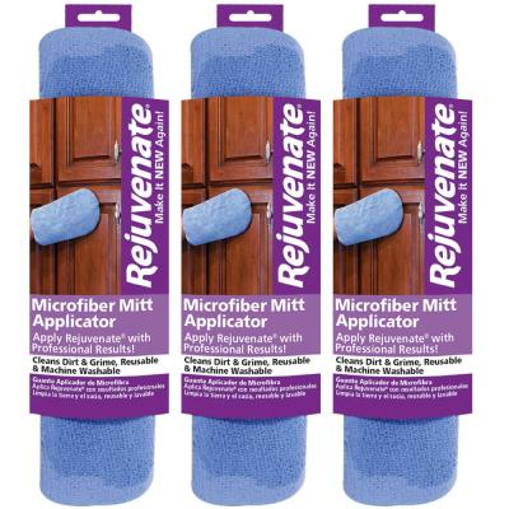 Microfiber Mitt Applicators (3-Pack)