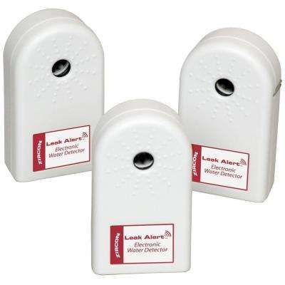 Leak Alert with Batteries Electronic Water Detector (3-Pack)