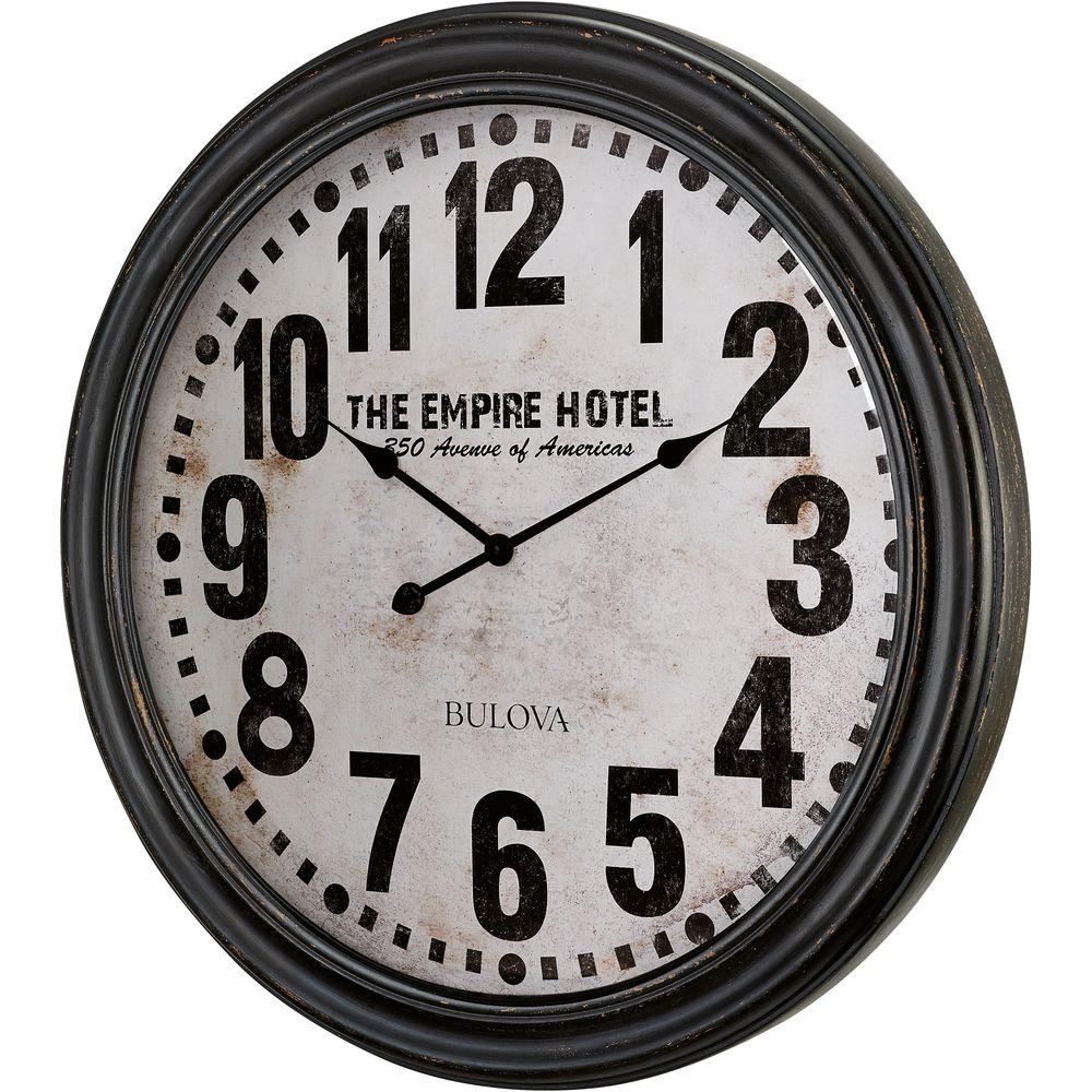 31 in. H x 31 in. W Round Gallery Wall Clock