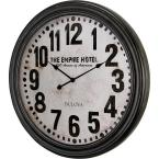 31 in. H x 31 in. W Round Gallery Wall Clock with Ogee Case Design