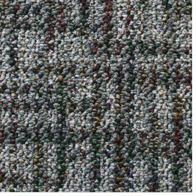 Carpet Sample - Business Case - Color Gray Skies Pattern 8 in. x 8 in.