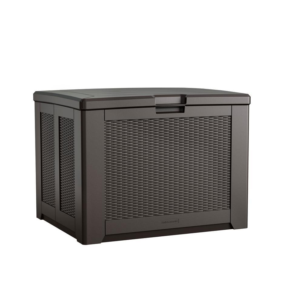 74 Gal. Medium Resin Deck Box