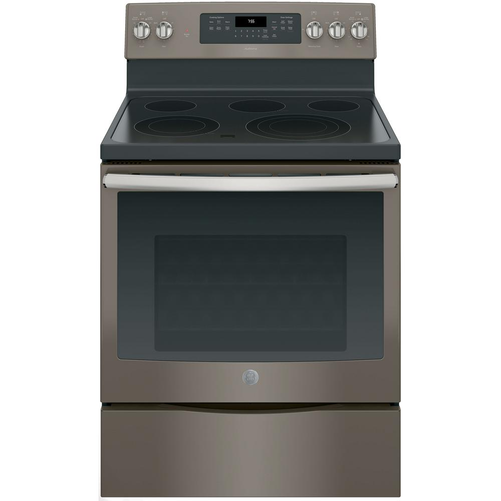 GE Adora 5.3 cu. ft. Electric Range with Self-Cleaning Convection Oven on