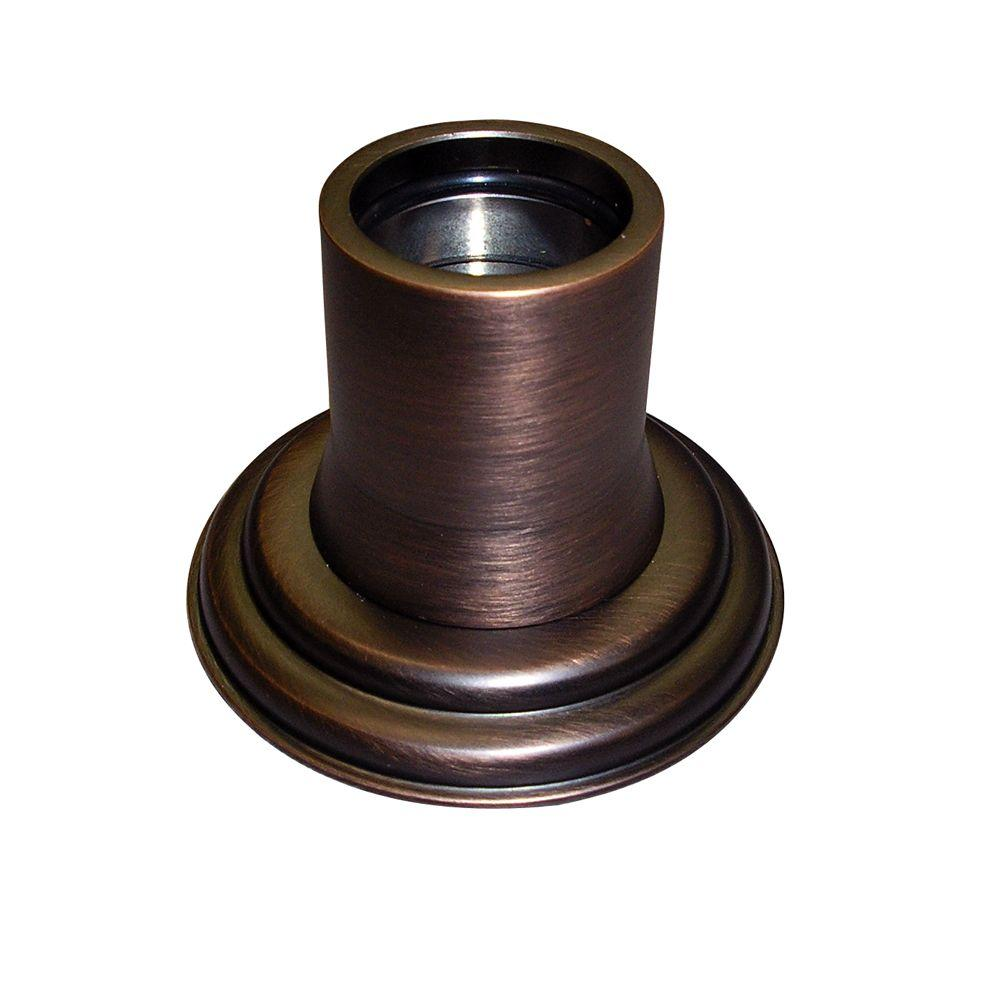 Barclay Products 1 in. Decorative Shower Rod Flange in Oil Rubbed ...