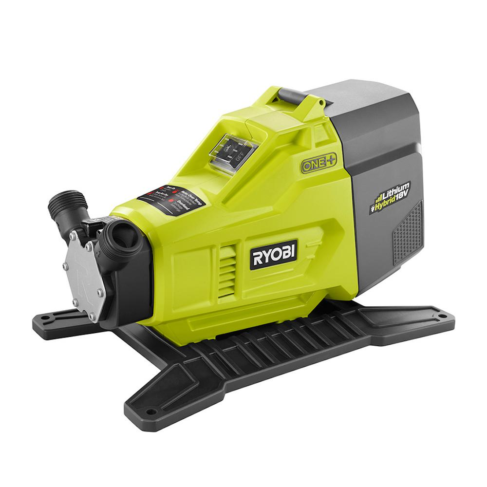 Ryobi 18 Volt One Hybrid Transfer Pump P750 The Home Depot