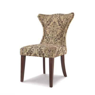 Lorena Brown Accent Parsons Chair