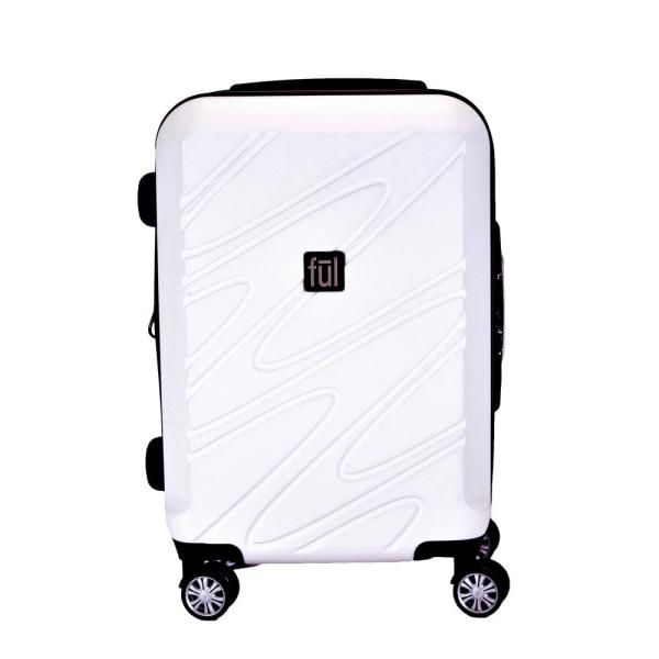 Ful Scribble 21 in. Expandable Spinner Rolling Luggage Suitcase ABFL5645-100