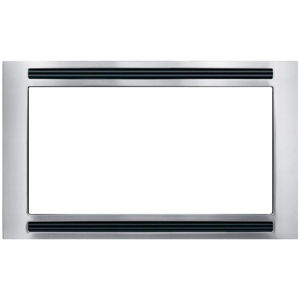 Frigidaire 30 In Trim Kit For Built Microwave Oven Stainless Steel