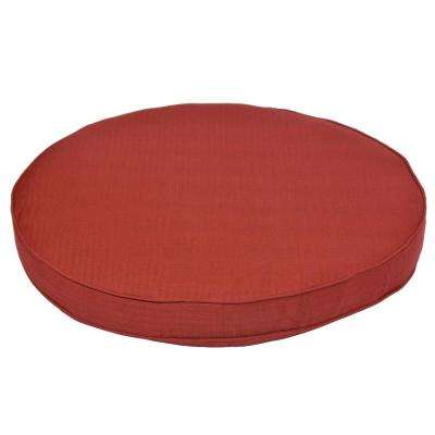 Torquay Chili Replacement Outdoor Ottoman Cushion