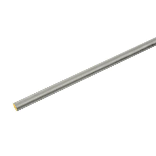 1/4 in. x 36 in. Zinc-Plated Round Rod