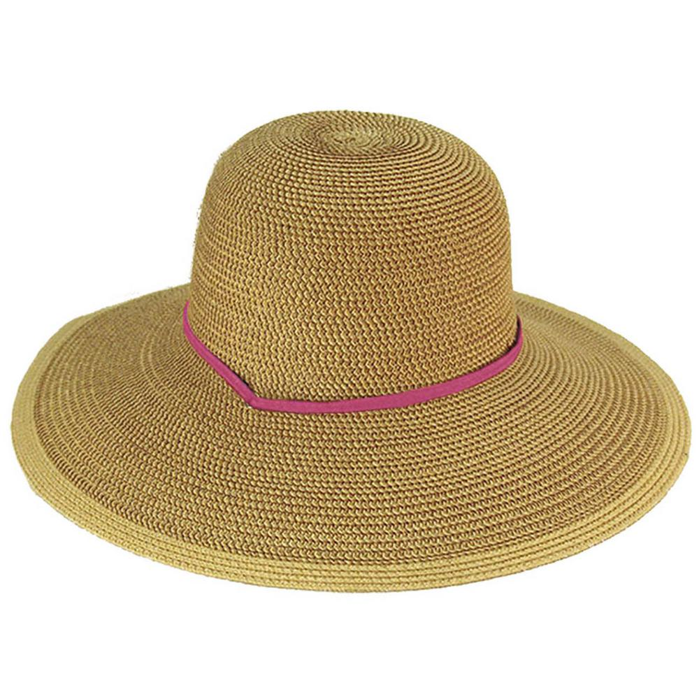 52201988 Midwest Quality Gloves Straw Garden Hat-42H8PNKSTR-EA-00 - The Home ...