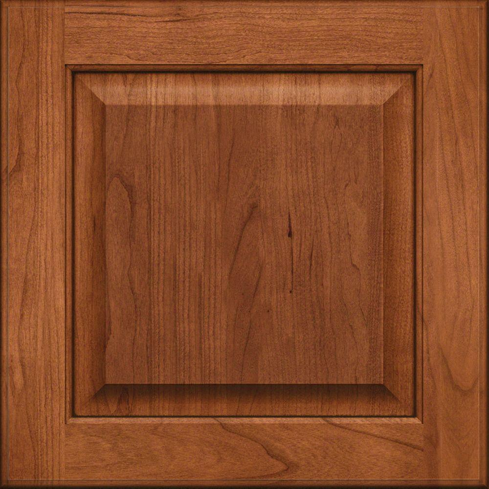 Cabinet Door S&le in Fox Hill Cherry Square in Cinnamon with Onyx : square door - pezcame.com
