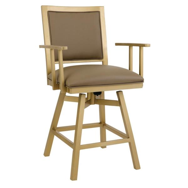 Taylor Gray Home Lancaster 26 in. Dillon Balsa Swivel Barstool B244H26AS