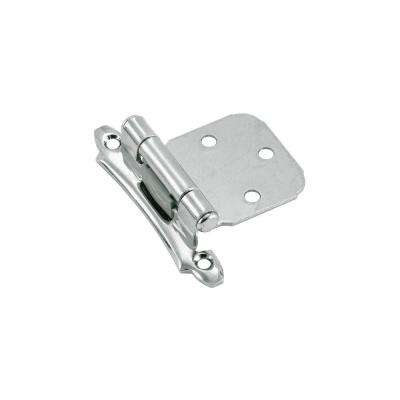 2 in. Polished Chrome Variable Overlay Hinges