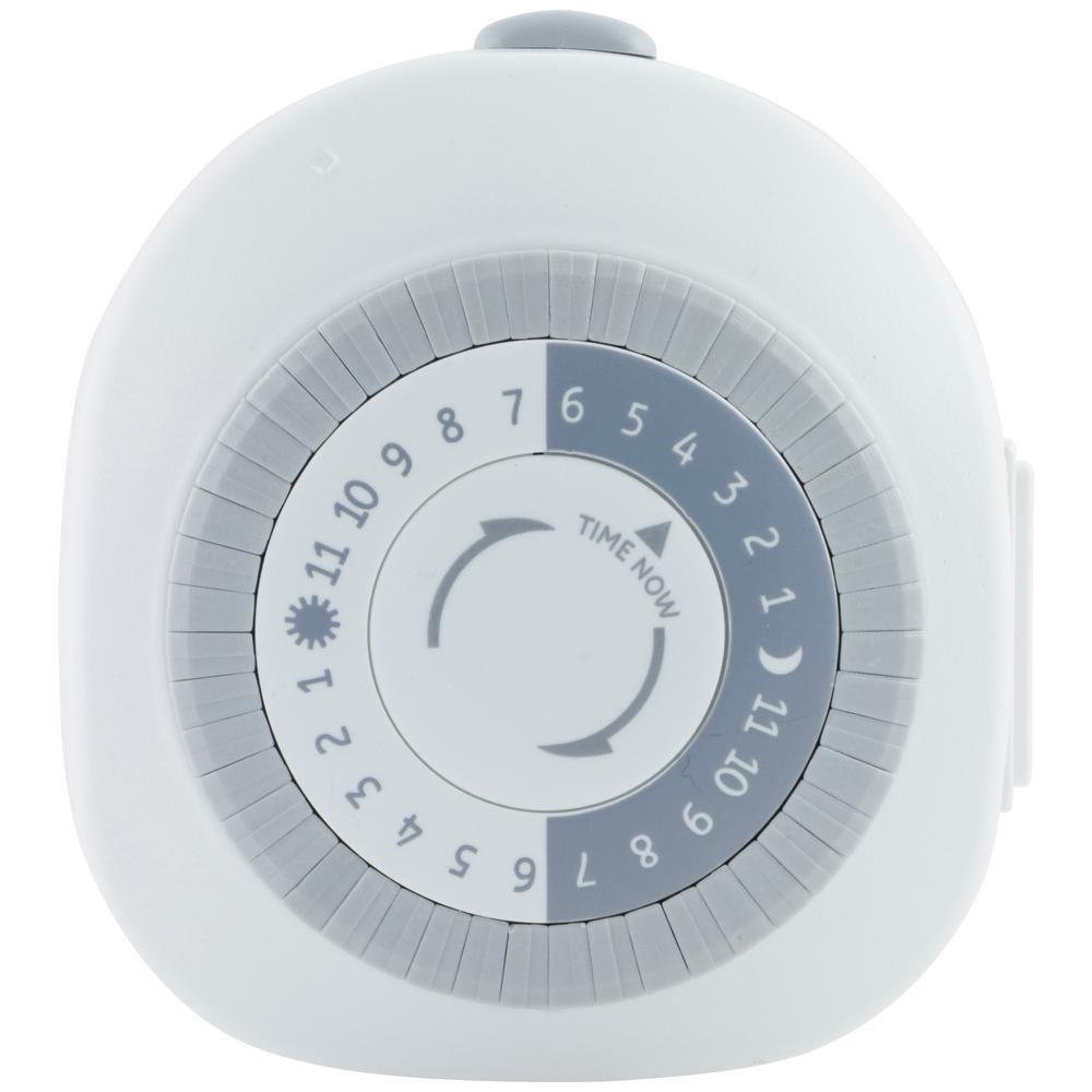 Indoor Plug-In 24-Hour 1-Outlet Timer