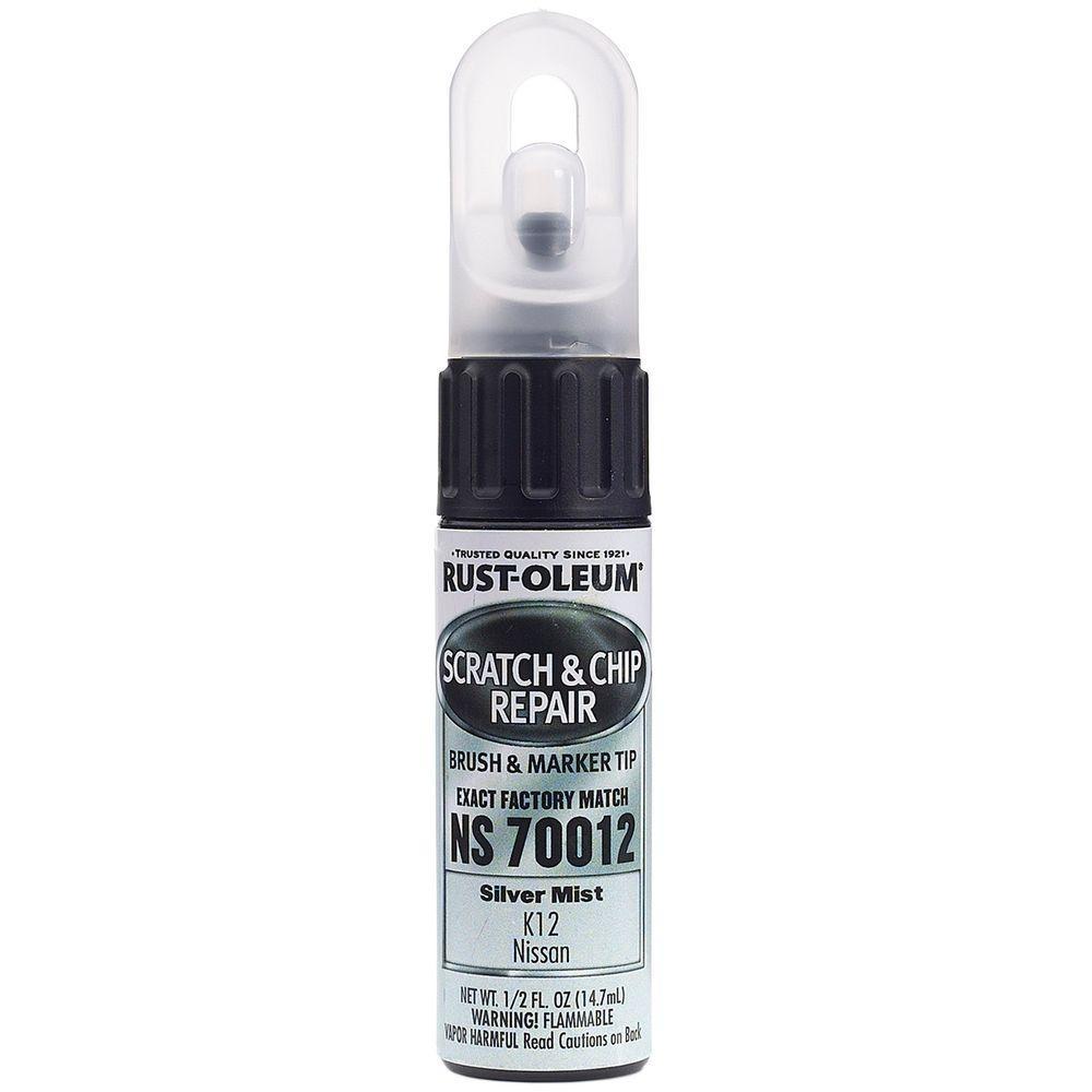 Rust-Oleum Automotive 0.5 oz. Silver Mist Scratch and Chip Repair Marker (6-Pack)