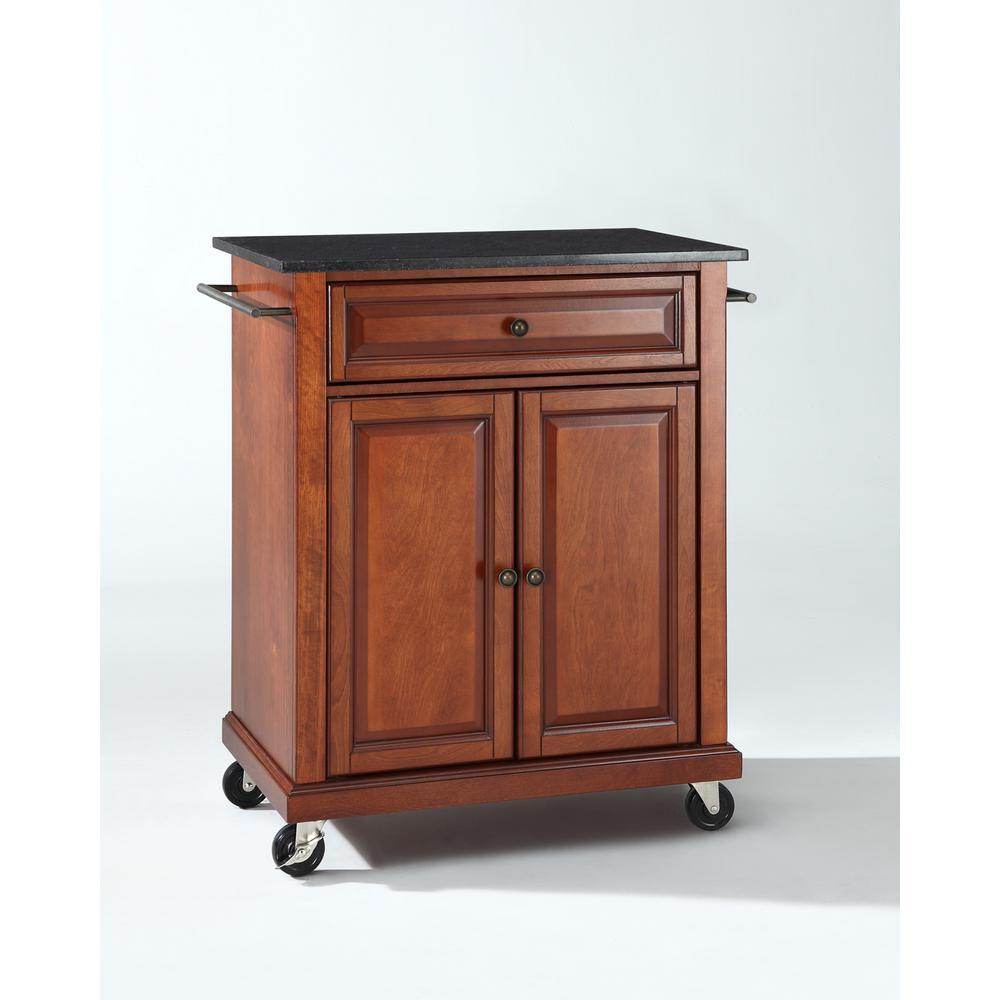 +2. Crosley Cherry Kitchen Cart ...