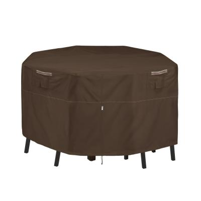 Madrona Rainproof 66 in. W x 66 in. D x 34 in. H Square Patio Bar Table and Chair Cover