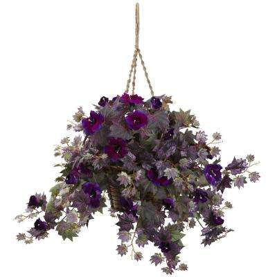 hanging plants - artificial plants & flowers - home accents - the