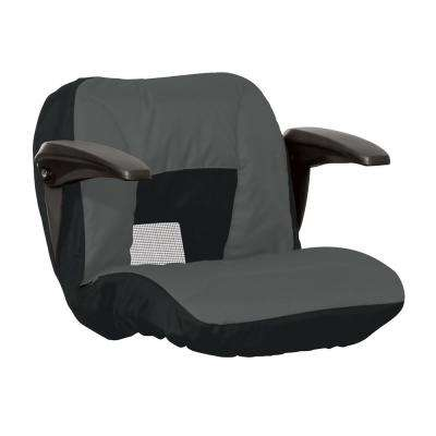 Cover for Lawn Tractor Seat with Arms