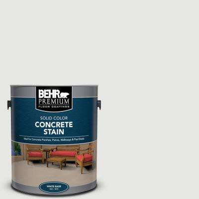 1 gal. #PFC-66 Ice White Solid Color Flat Interior/Exterior Concrete Stain