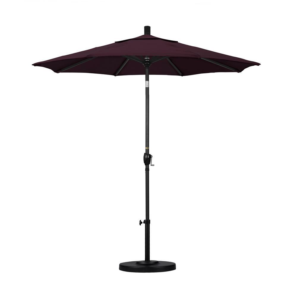Fiberglass Push Tilt Patio Umbrella In Purple Pacifica