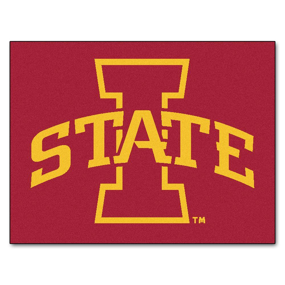 Iowa State University 2 ft. 10 in. x 3 ft. 9