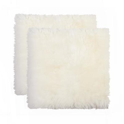 New Zealand Natural Sheepskin Chair Seat Cover (Set of 2)