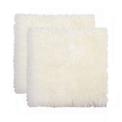 New Zealand Natural Sheepskin Chair Pad (Set of 2)