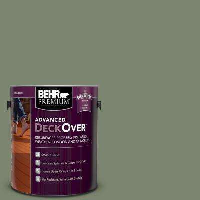 1 gal. #SC-126 Woodland Green Smooth Solid Color Exterior Wood and Concrete Coating