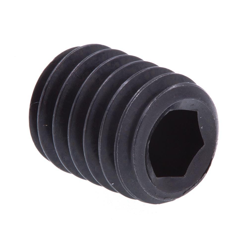 "3//8/""-16 x 2/"" Coarse Thread Socket Set Screw Cup Pt Black Oxide"