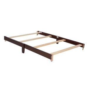 Universal Espresso Full Size Bed Rail (1-Pack)