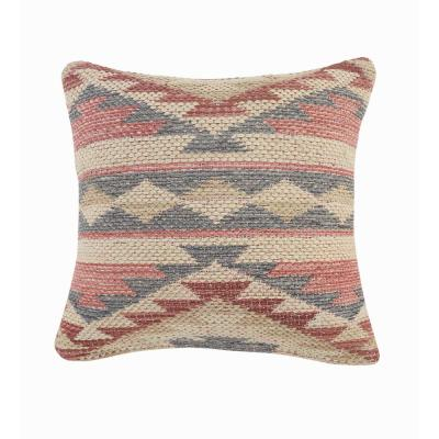 Eclectic Multi-color Southwest Cozy Polyfill 18 in. x 18 in. Throw Pillow