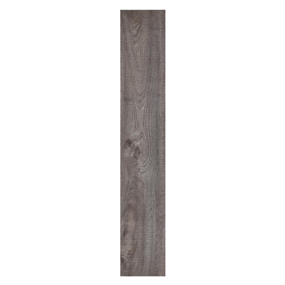 Achim Sterling 6 In X 36 In Rustic Grey Peel And Stick Vinyl Plank