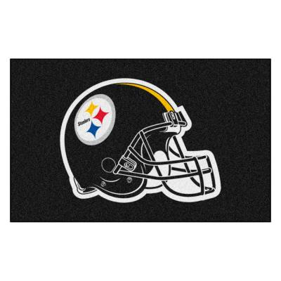 NFL - Pittsburgh Steelers Helmet Rug - 5ft. x 8ft.
