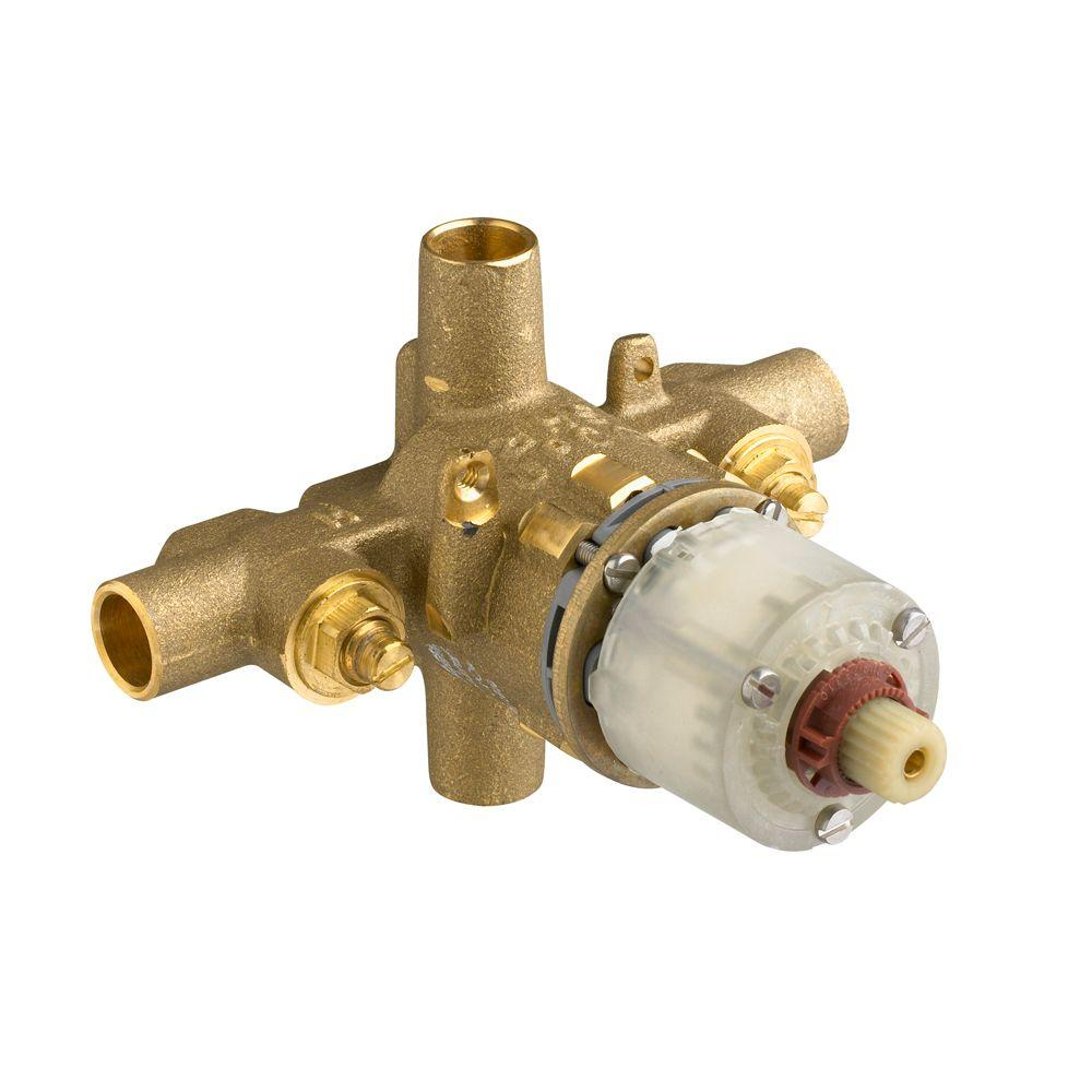 Pressure Balance Rough Valve Body With Screwdriver Stops