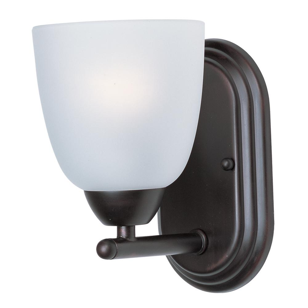 Axis 1-Light Oil Rubbed Bronze Wall Sconce