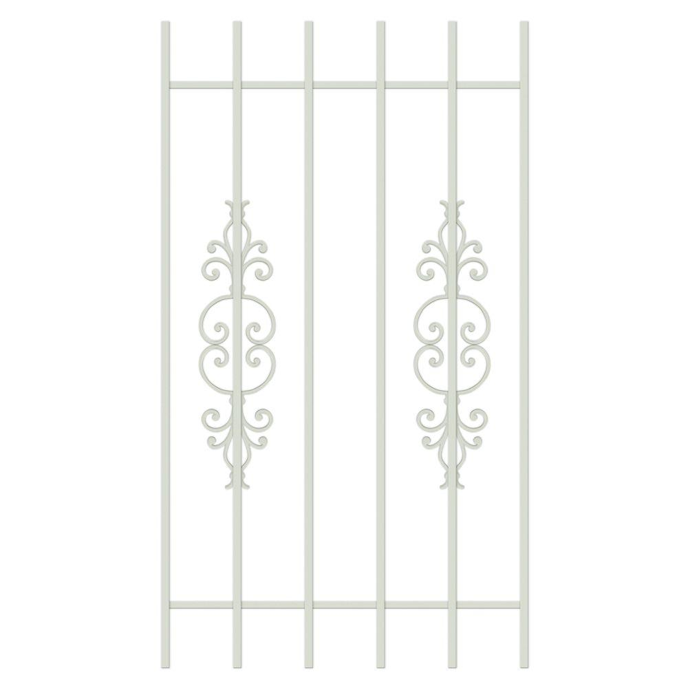 Unique Home Designs El Dorado 30 in. x 54 in. Almond 6-Bar Window Guard-DISCONTINUED
