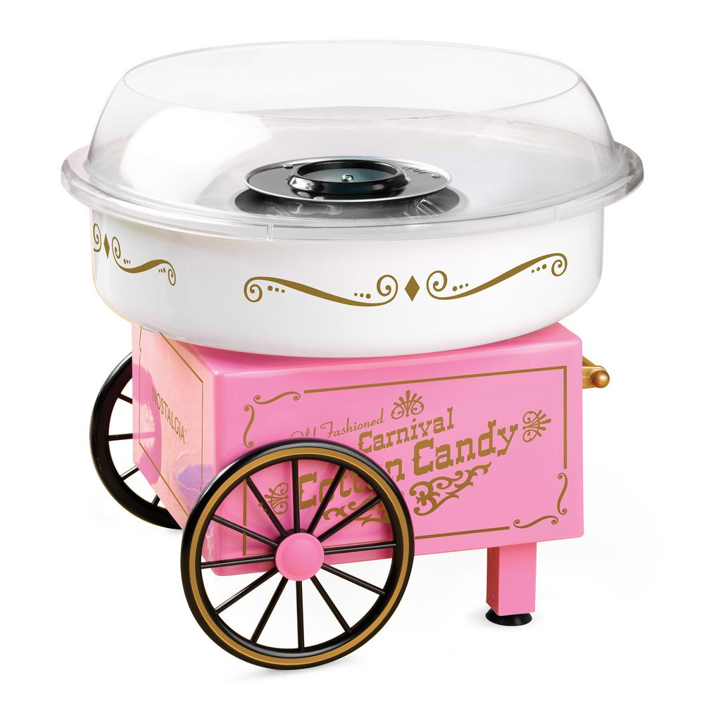 Nostalgia Vintage Collection Hard and Sugar-Free Cotton Candy Maker