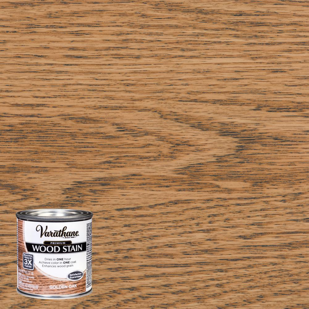 Varathane 8 oz. Golden Oak Premium Fast Dry Interior Wood Stain (4-Pack)