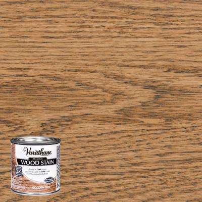 8 oz. Golden Oak Premium Fast Dry Interior Wood Stain (4-Pack)