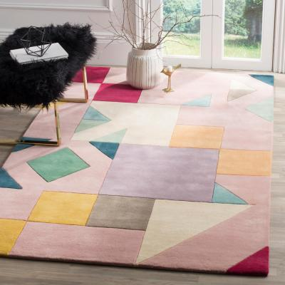 Fifth Avenue Pink/Multi 8 ft. x 10 ft. Area Rug
