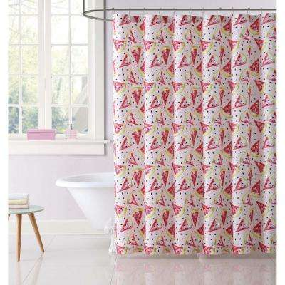 Fruity Printed 72 in. Multiple Shower Curtain