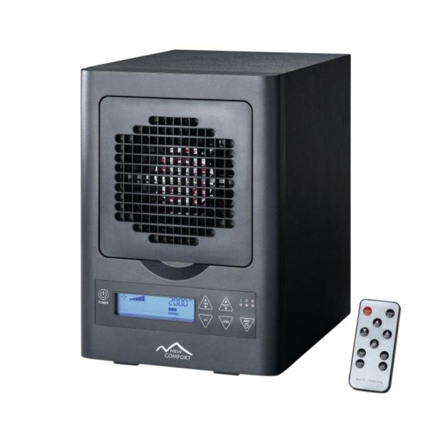 Black BL 3000 6 Stage Ozone Generator Air Purifier with Electronic Display