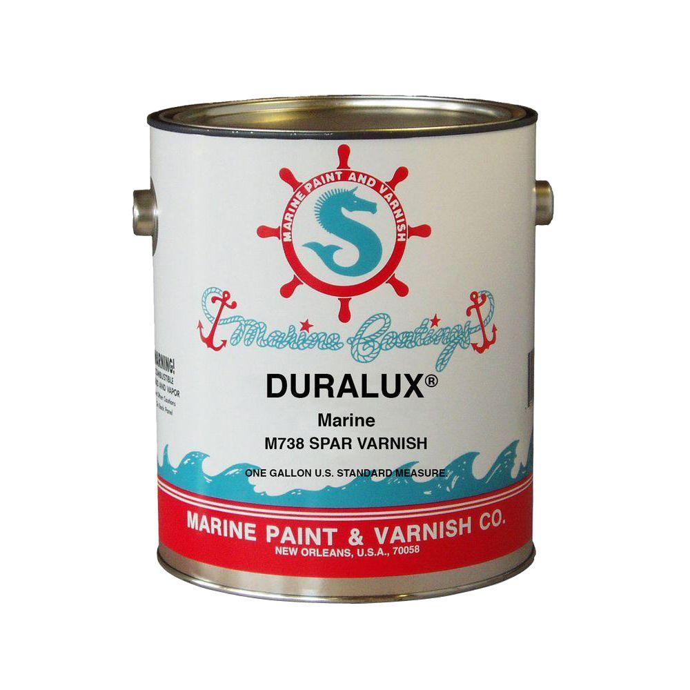Duralux Marine Paint 1 gal. Clear Spar Varnish