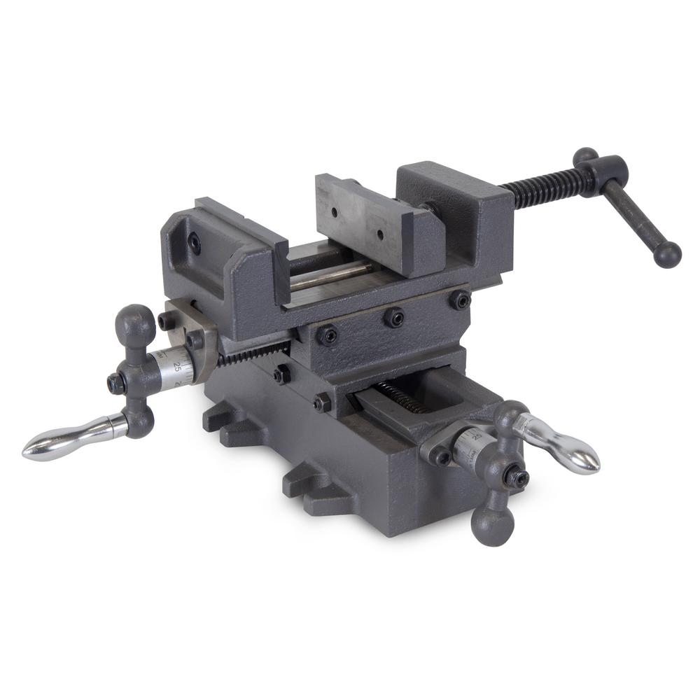 3.25 in. Compound Cross Slide Industrial Strength Benchtop and Drill Press