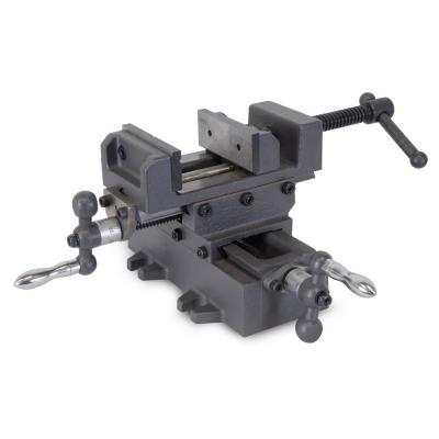 3.25 in. Compound Cross Slide Industrial Strength Benchtop and Drill Press Vise